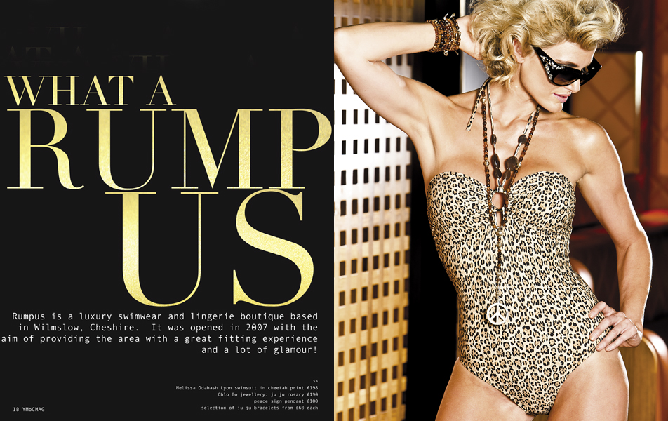 YMoC mag Rumpus Swimwear Fashion Shoot