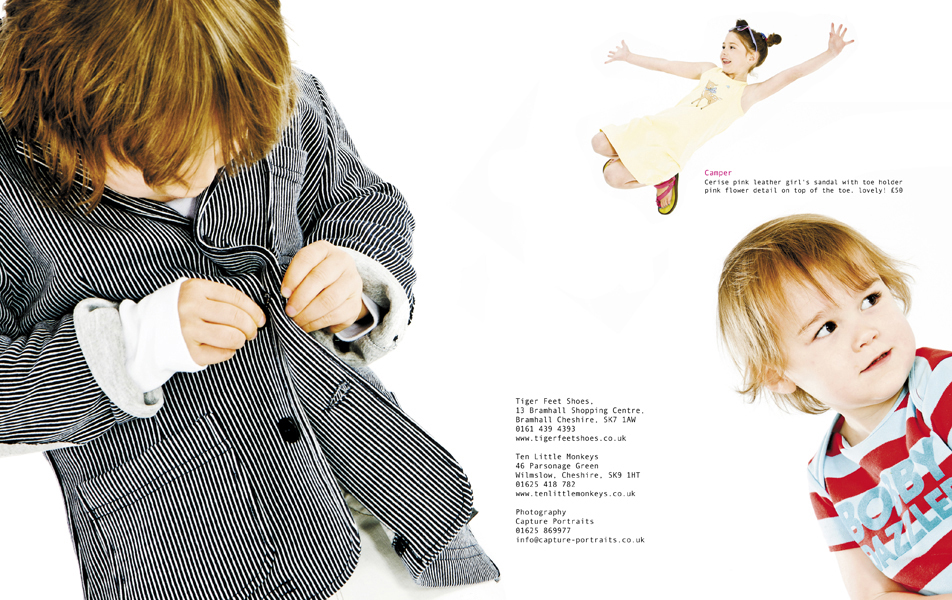 Childrens fashion photography manchester