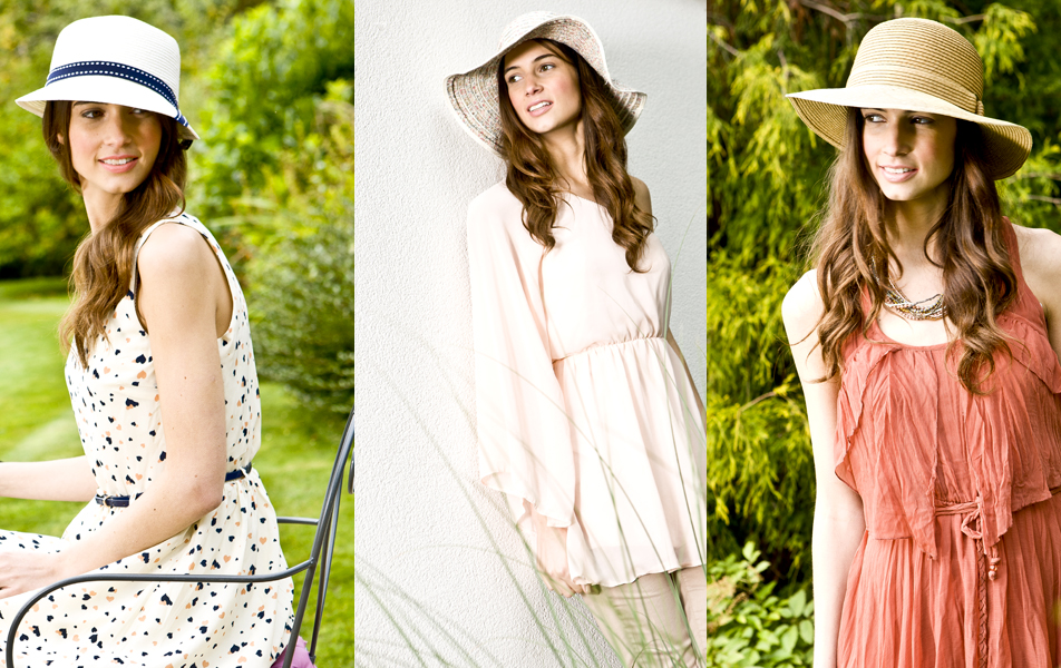 fashion photography for point of sale and catalogue for designer based in Manchester