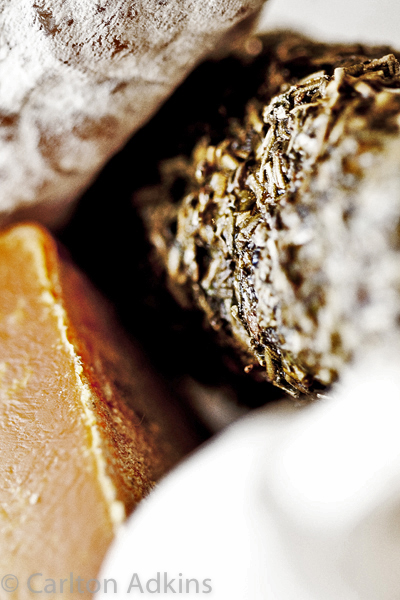 abstract food photography shot on location in manchester