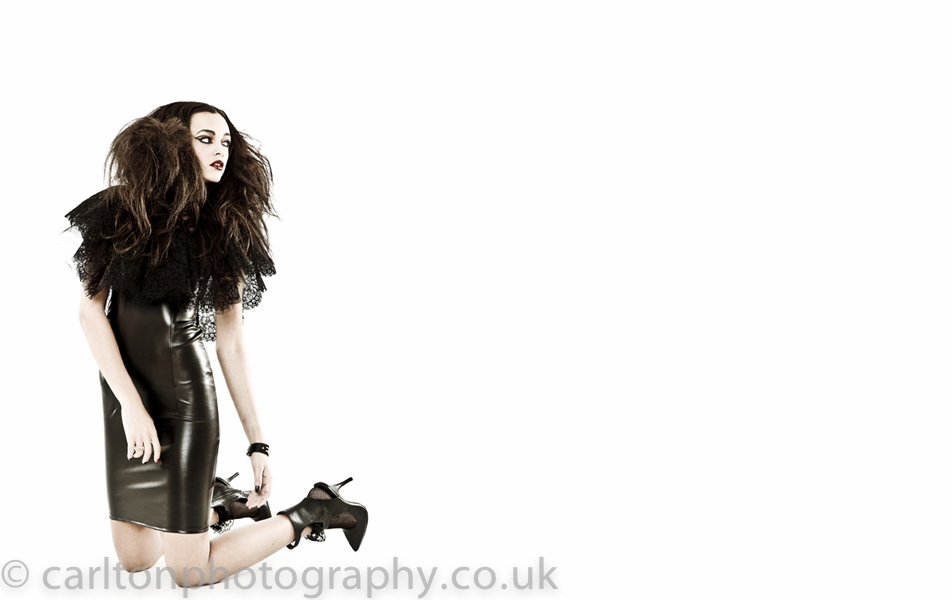 fashion model photography shot in my cheshire studio