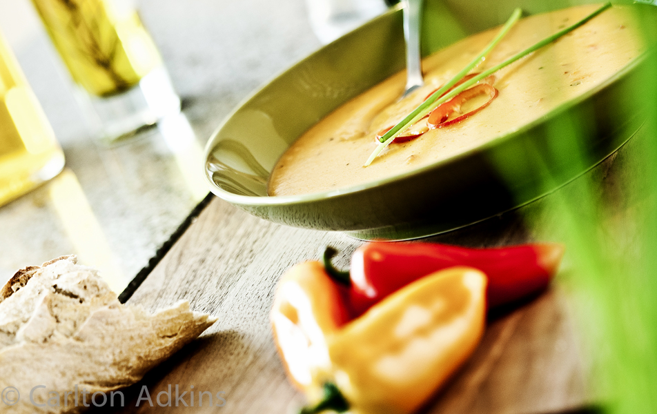 food photography shot on location in cheshire