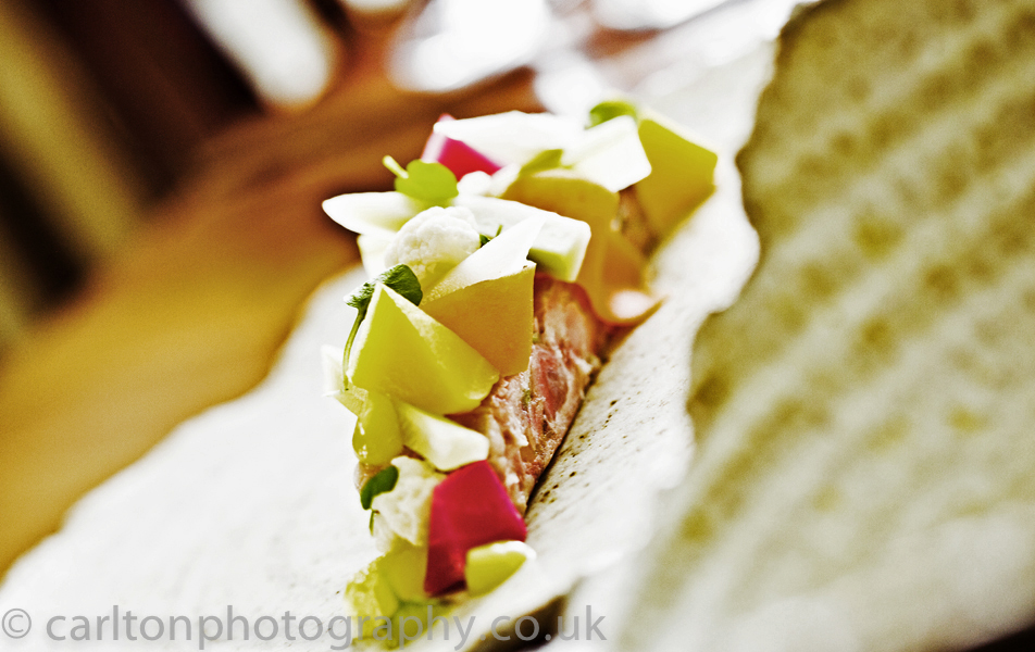 food photography for a cheshire restaurant