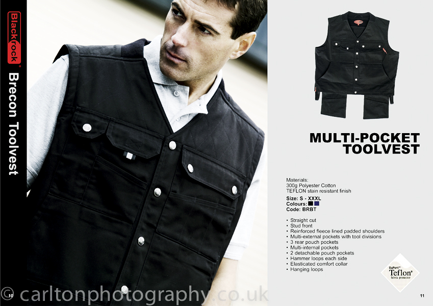 workwear fashion photography