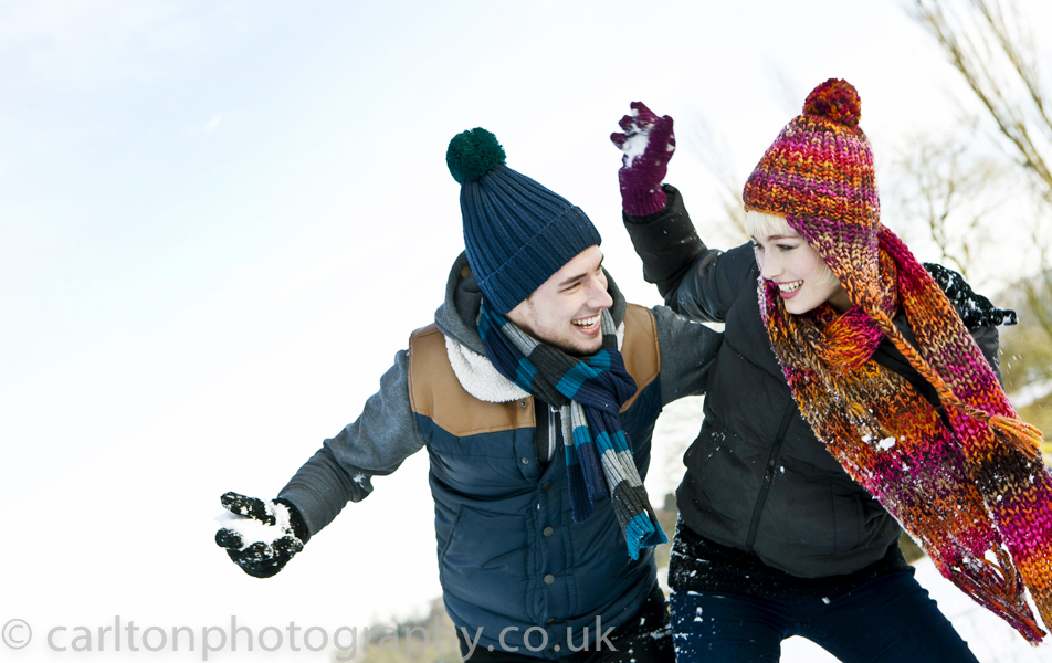 Winter Fashion Photography .. Fun in the Snow