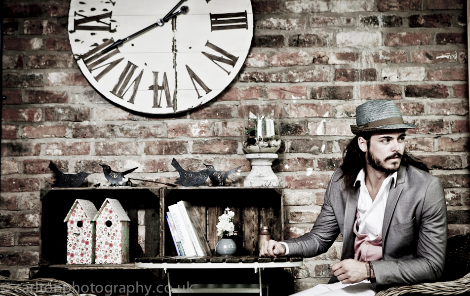 fashion photography on location in didsbury house near manchester