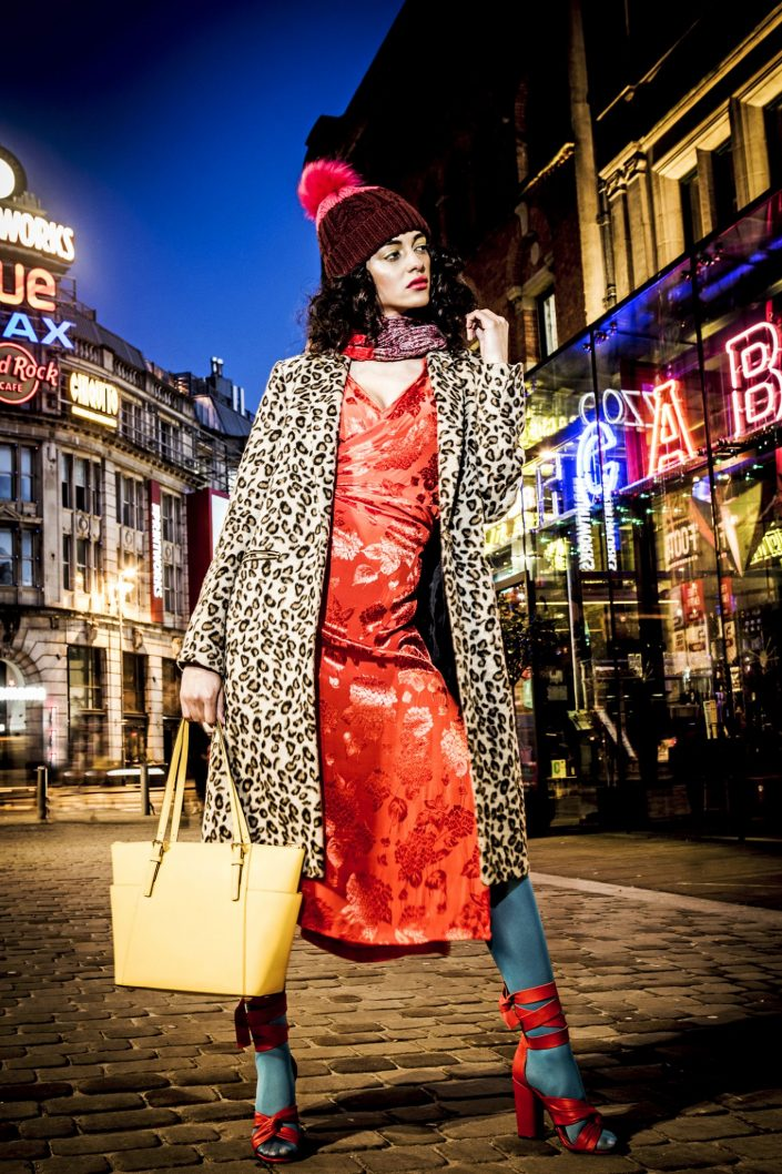 fashion photography of womenswear in manchester