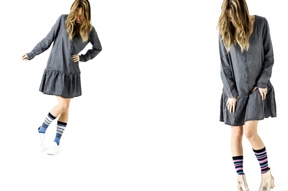 Studio Photography for Womens Socks