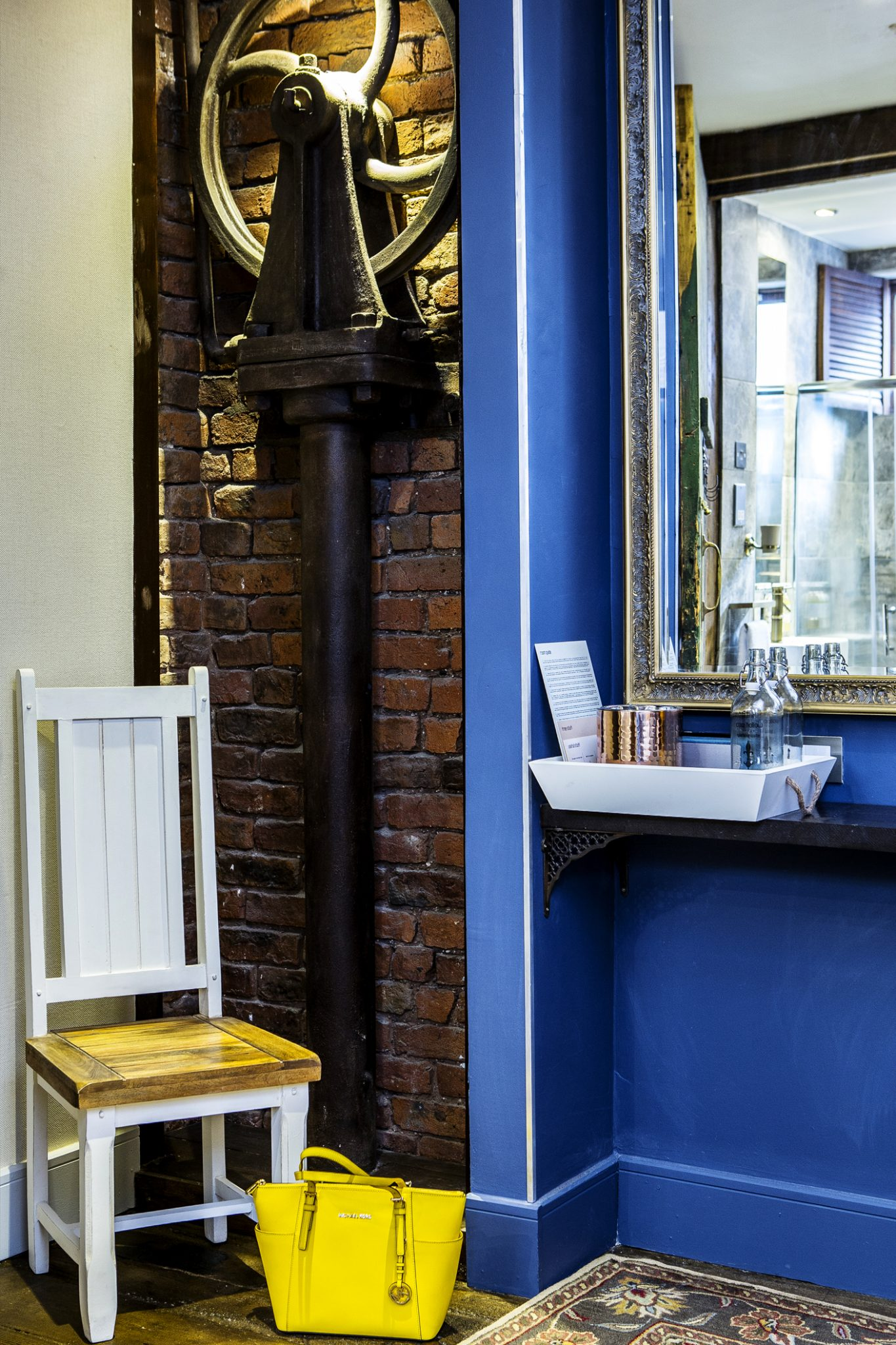 interior photography and room set design at the cow hollow hotel in manchester