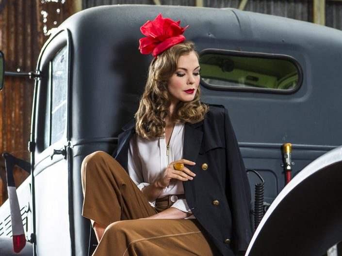 Advertising Fashion Photography Forties Style
